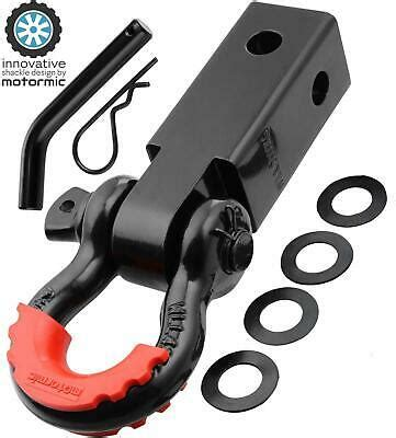 motormic Unique Shackle Hitch Receiver 2 35 000 lbs Max Capacity with